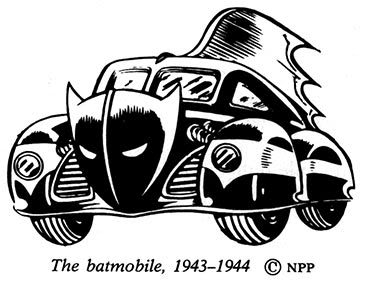 1940s batmobile