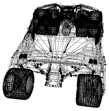 tumbler 3d wireframe